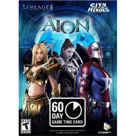 Aion - PlayNC 60 Day Game Time Card