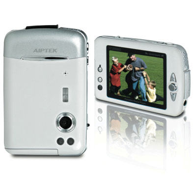 AIPTEK PocketDV M2 White - Multifuncional