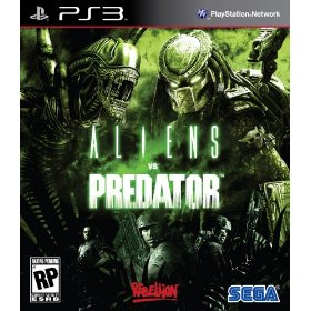 Alien vs Predator for PS3 US