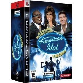 Karaoke Revolution Presents: American Idol Encore BUNDLE for PS3