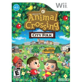 Wii Animal Crossing: City Folk US