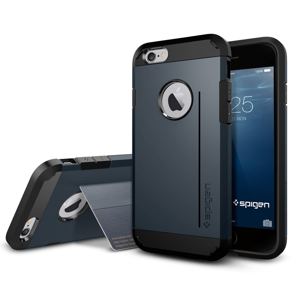 Case ARMOR Black Capa para iPhone 6 4.7""