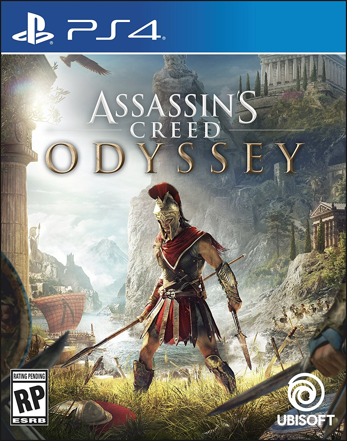 PS4 Assassins Creed Odyssey em Portugues (PlayStation 4)
