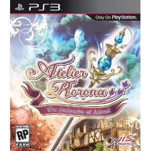 Atelier Rorona: The Alchemist of Arland for PS3 US