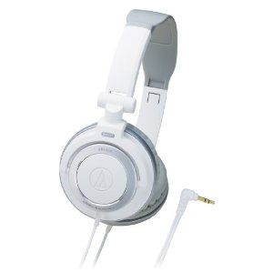 Audio-Technica ATH-SJ55 DJ Monitors - White