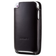 avenue-d Italian Leather Sleeve for iPhone - Dark Brown