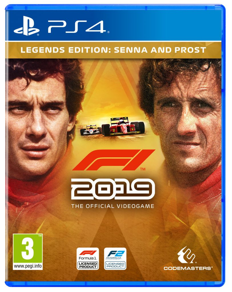 PS4 F1 2019 Senna Legends Edition Formula One