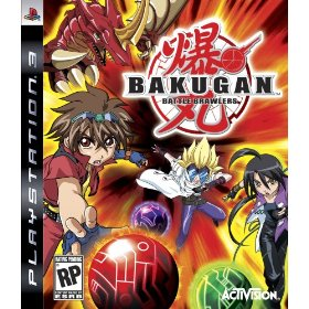 Bakugan Battle Brawlers for PS3 US