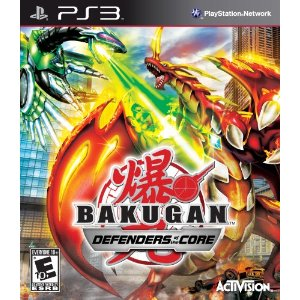 Bakugan Battle Brawlers: Defenders of the Core for PS3 US