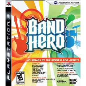 Band Hero featuring Taylor Swift PS3 US