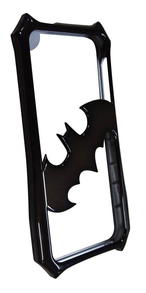Case Batman Bumper Metal Black para iPhone 5