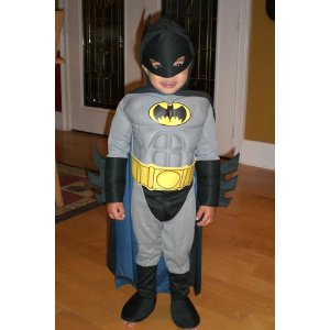 Batman with Muscle Chest Toddler - Small Size