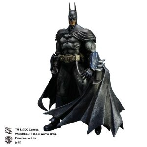 ARKHAM ASYLUM Play Arts PVC Figure BATMAN
