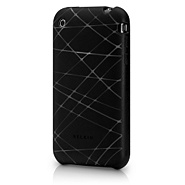 Belkin Etched Silicone iPhone 3G(Black/Clear Line)