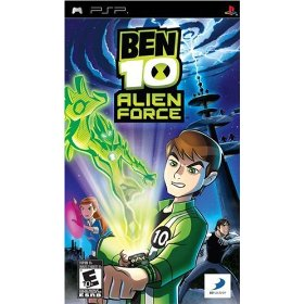 PSP Ben 10 Alien Force