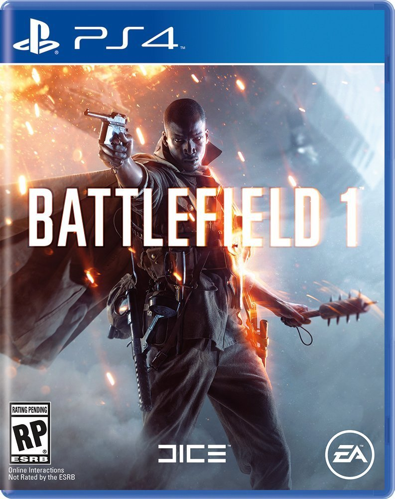 PS4 BF1 Battlefield 1 em Portugues e Espanol (PlayStation 4)
