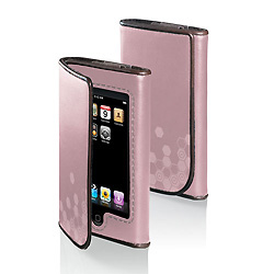 Belkin Leather Folio for iPod Touch - Pink