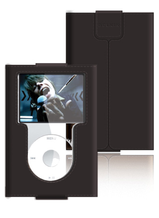 Belkin Leather Sleeves for iPod nano 3G