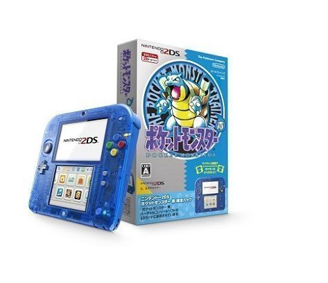 Nintendo 2DS Pokemon Blue Limited Edition