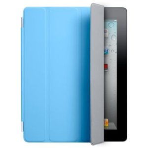 Apple iPad 2 Polyurethane Smart Cover - Blue