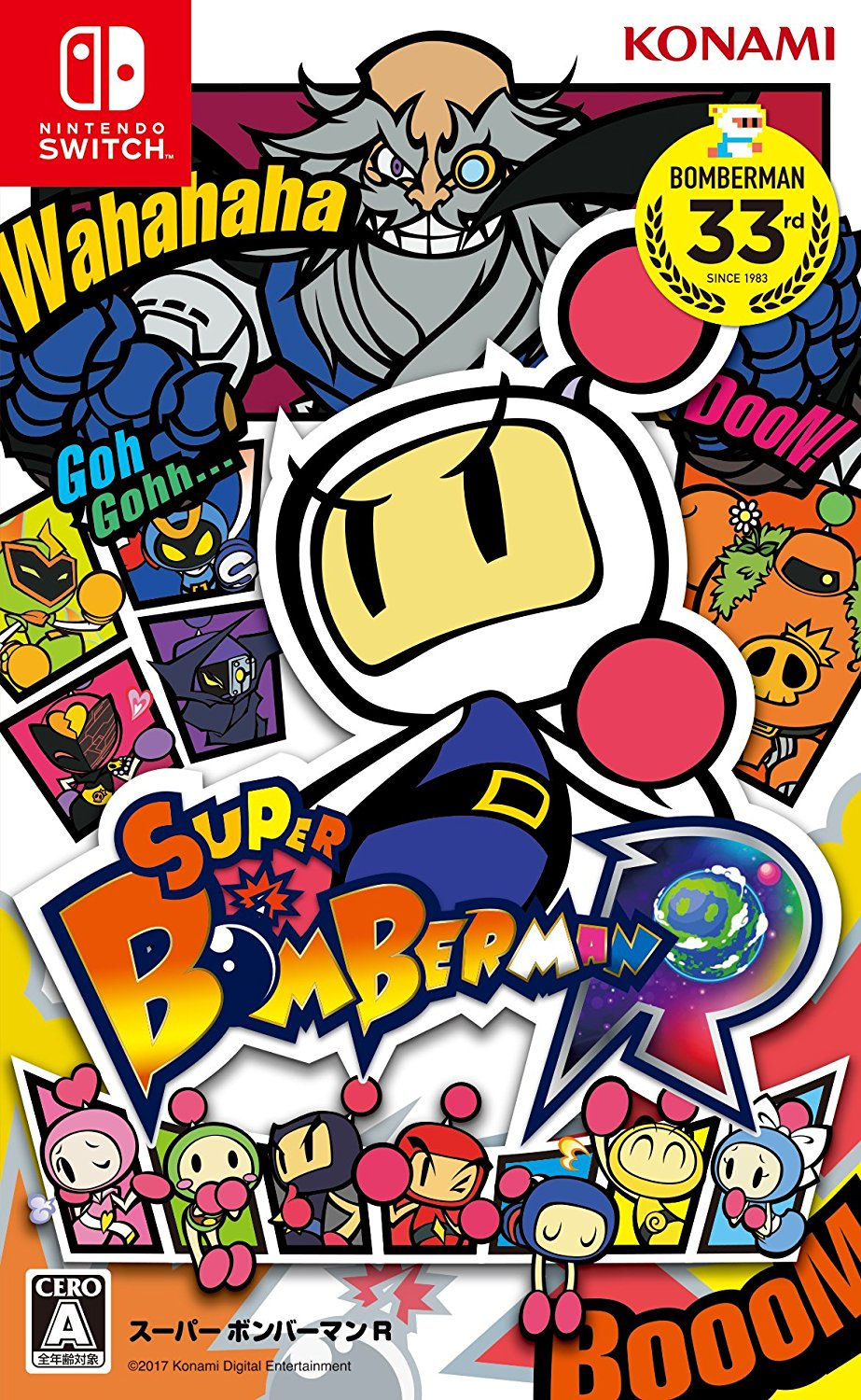 Super Bomberman R em PORTUGUES Switch