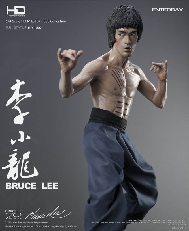Enterbay HD-1002 Bruce Lee full body Statue