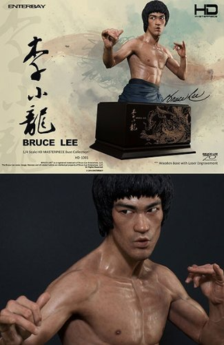 Enterbay HD-1001 Bruce Lee Bust