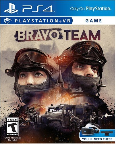 PS4 PSVR Bravo Team VR