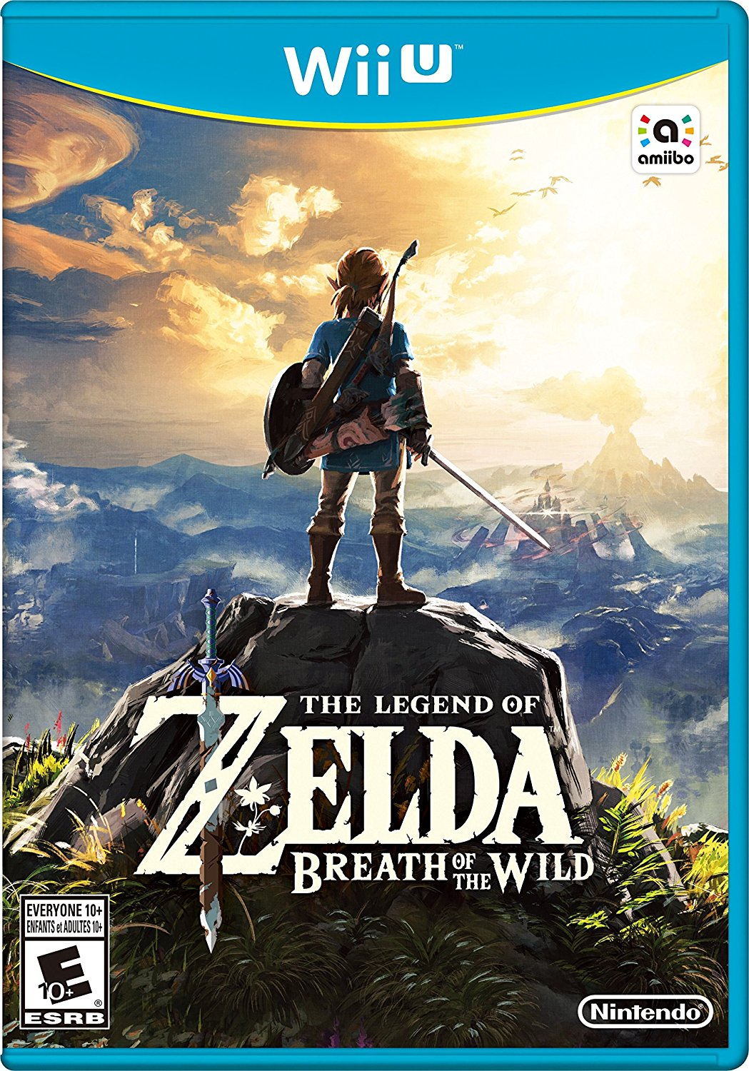 Wii U - The Legend of Zelda: Breath of the Wild USA