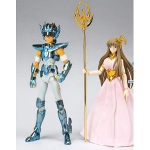 Pegasus Seiya New Bronze Cloth Broken Version & Saori Kido