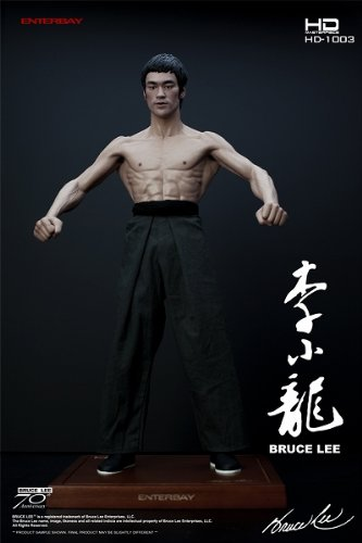 Enterbay HD Masterpiece Bruce Lee 70th Anniversary Version
