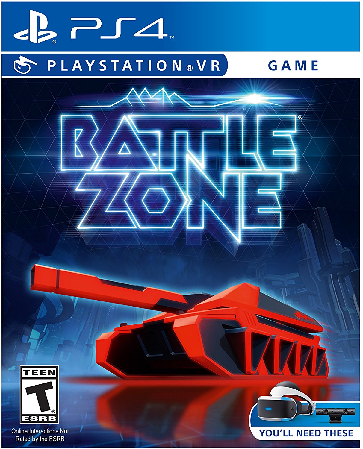 PS4 PSVR Battlezone