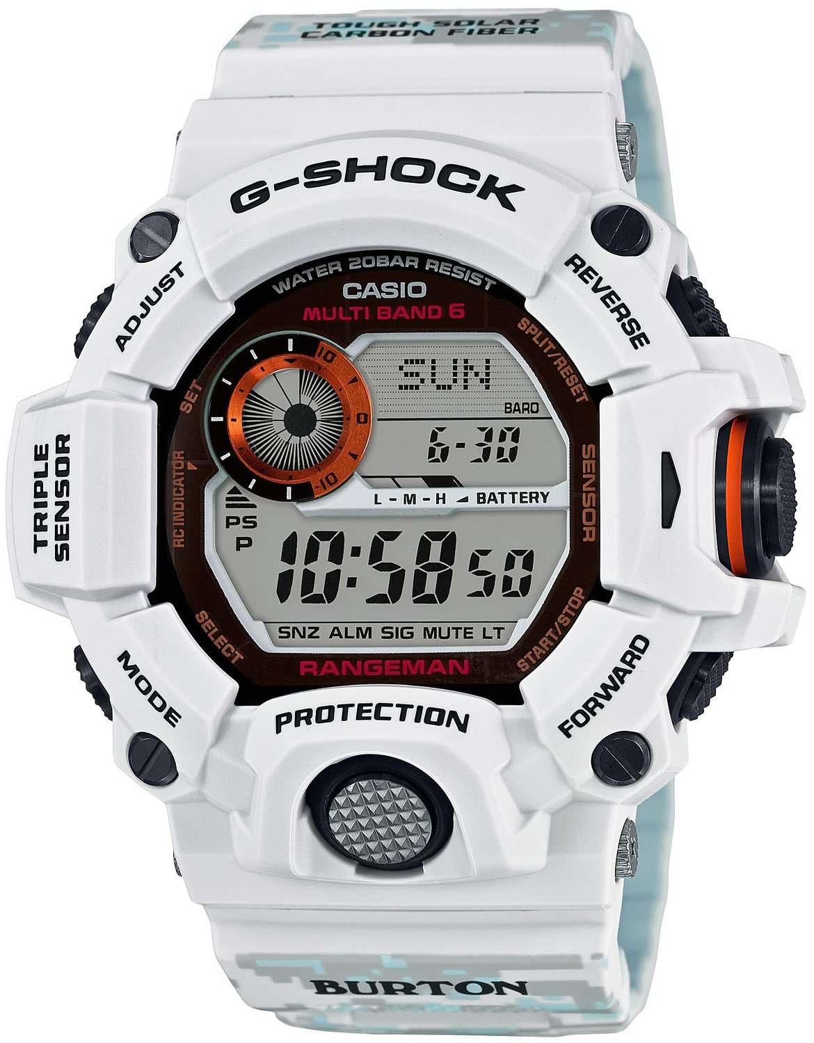 CASIO G-SHOCK BURTON GW-9400BTJ-8JR Limited Edition