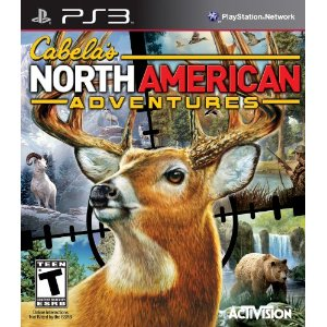 Cabela's North American Adventures 2011 for PS3 US