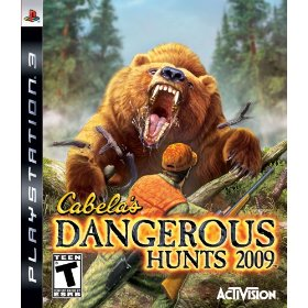 Cabela's Dangerous Hunts '09 for PS3 US