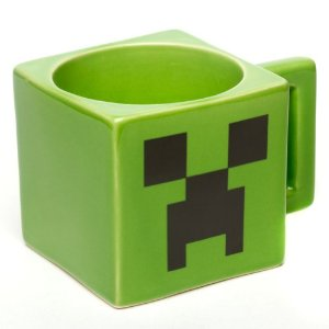 Caneca Official Licensed Minecraft Creeper Face Mug Microwave