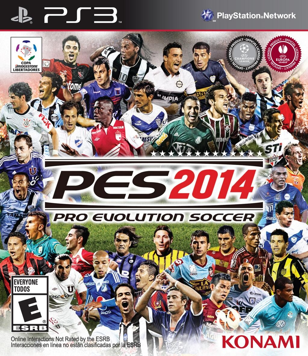 PES Pro-Evolution Soccer 2014 for PS3 em Português US