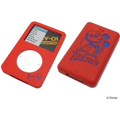 Case silicone jacket for ipod classic(80GB/120GB) Mickey Mouse