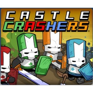 Cartao PSN Card $20 Castle Crashers