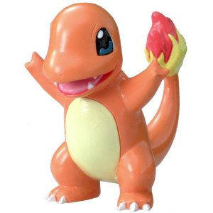 Pokemon Monster Collection M Figure - M-057 - Charmander/Hitokag