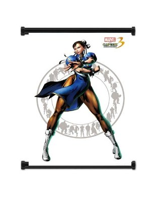Poster Marvel vs Capcom 3 Fate of 2 Worlds Chun Li (80x105cm)