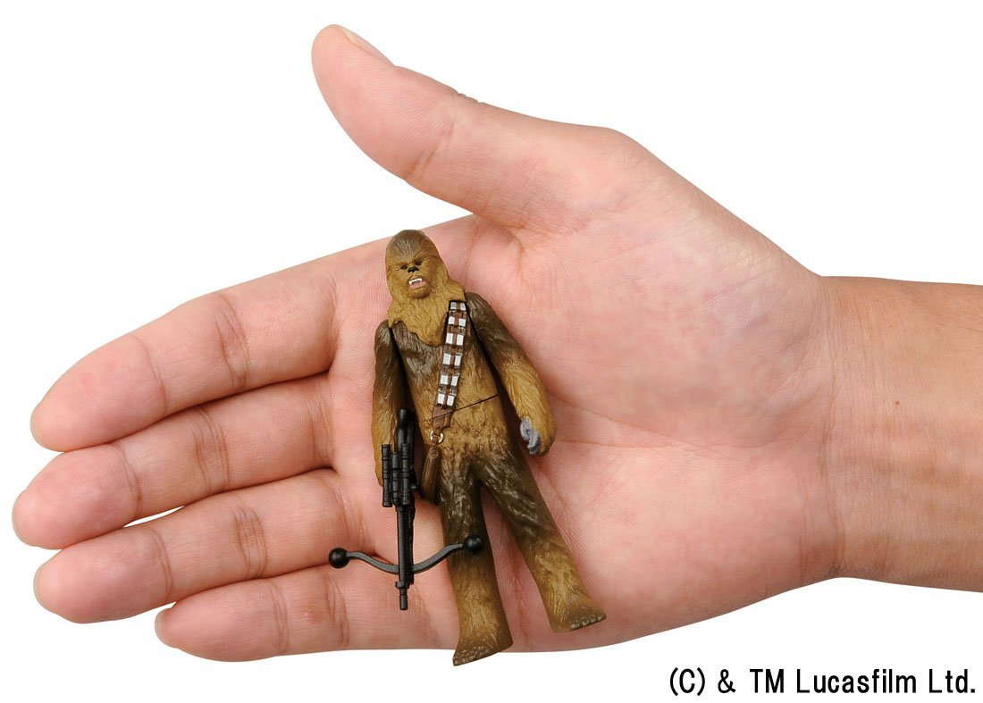 Miniatura Star Wars 15 Chewbacca Figure Metal
