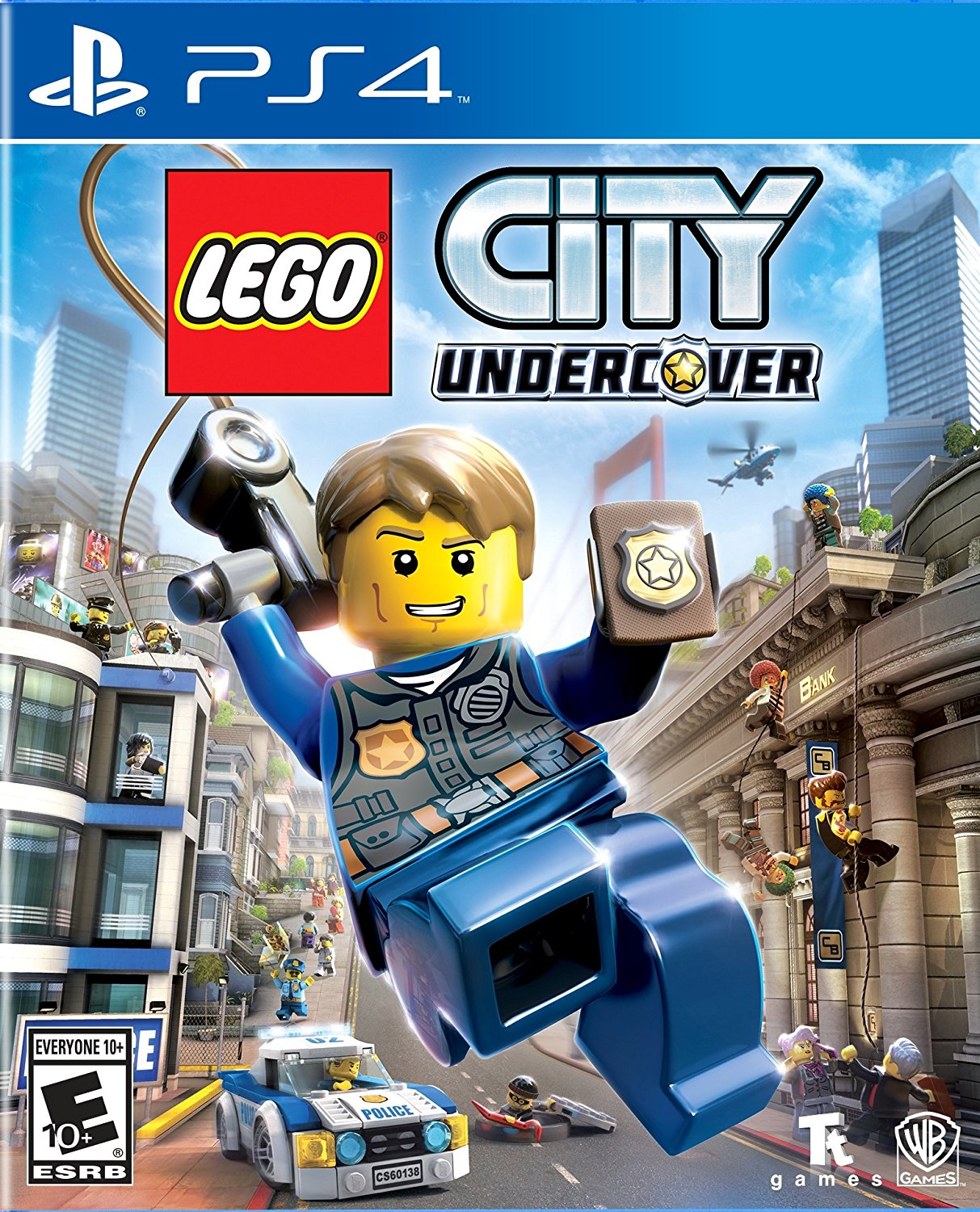 LEGO City Undercover em Portugues (PlayStation 4)