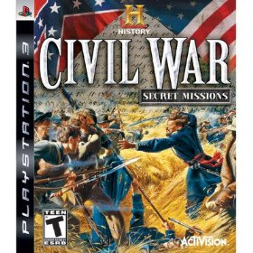 History Channel Civil War: Secret Missions for PS3 US