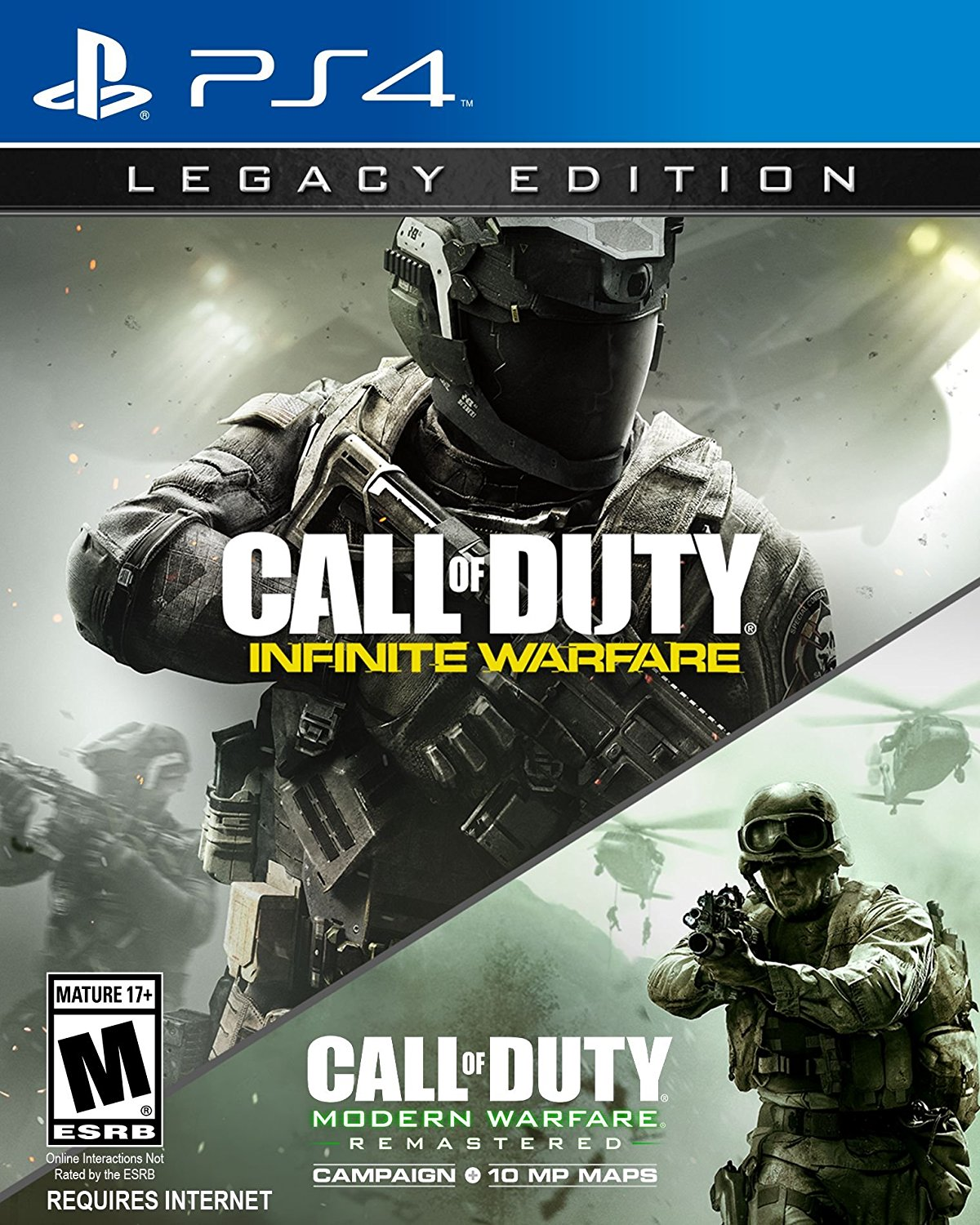 PS4 COD Call of Duty: Infinite Warfare LEGACY EDITION