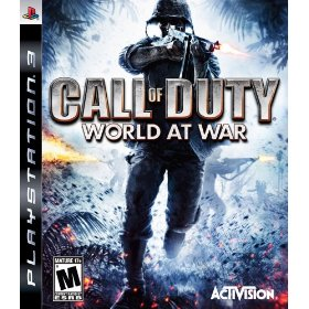 COD 5 Call of Duty: World at War for PS3 US