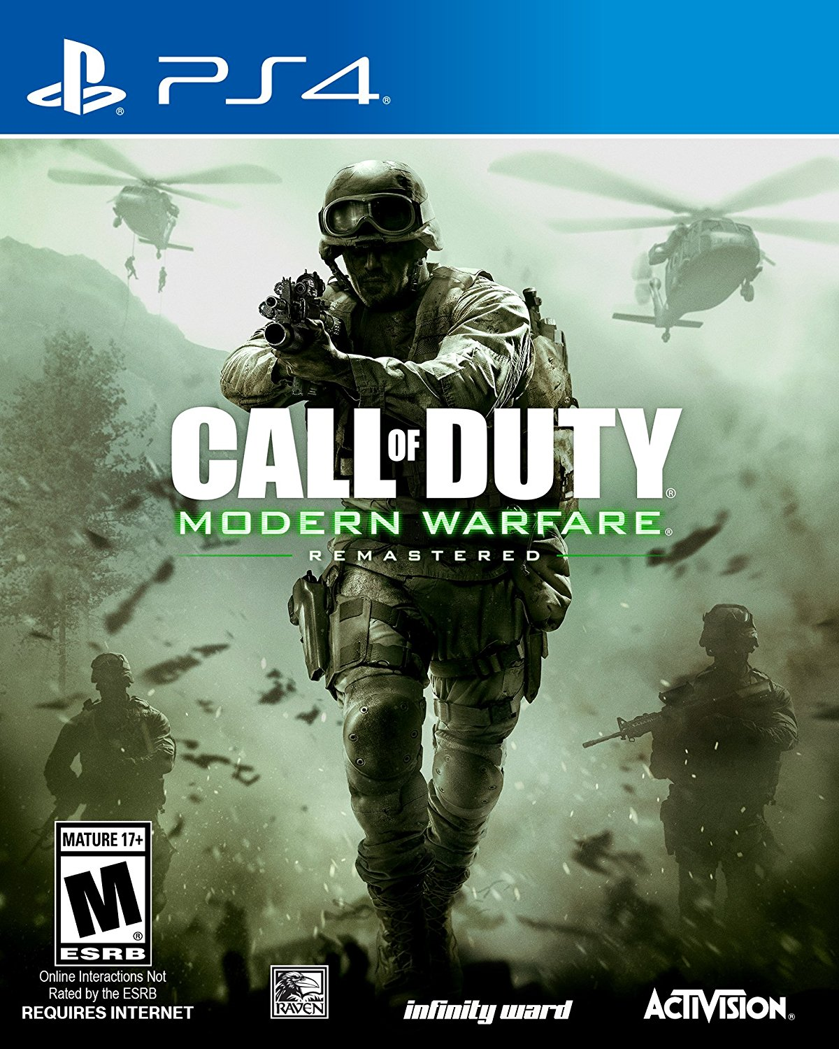 PS4 COD Call of Duty Modern Warfare Remastered