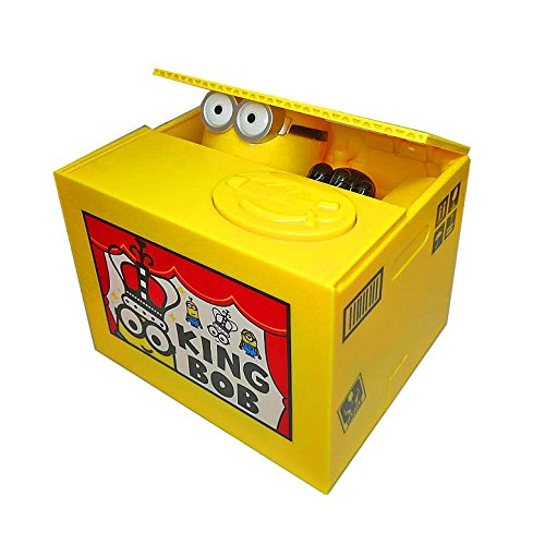 Cofre Minions Coin Bank