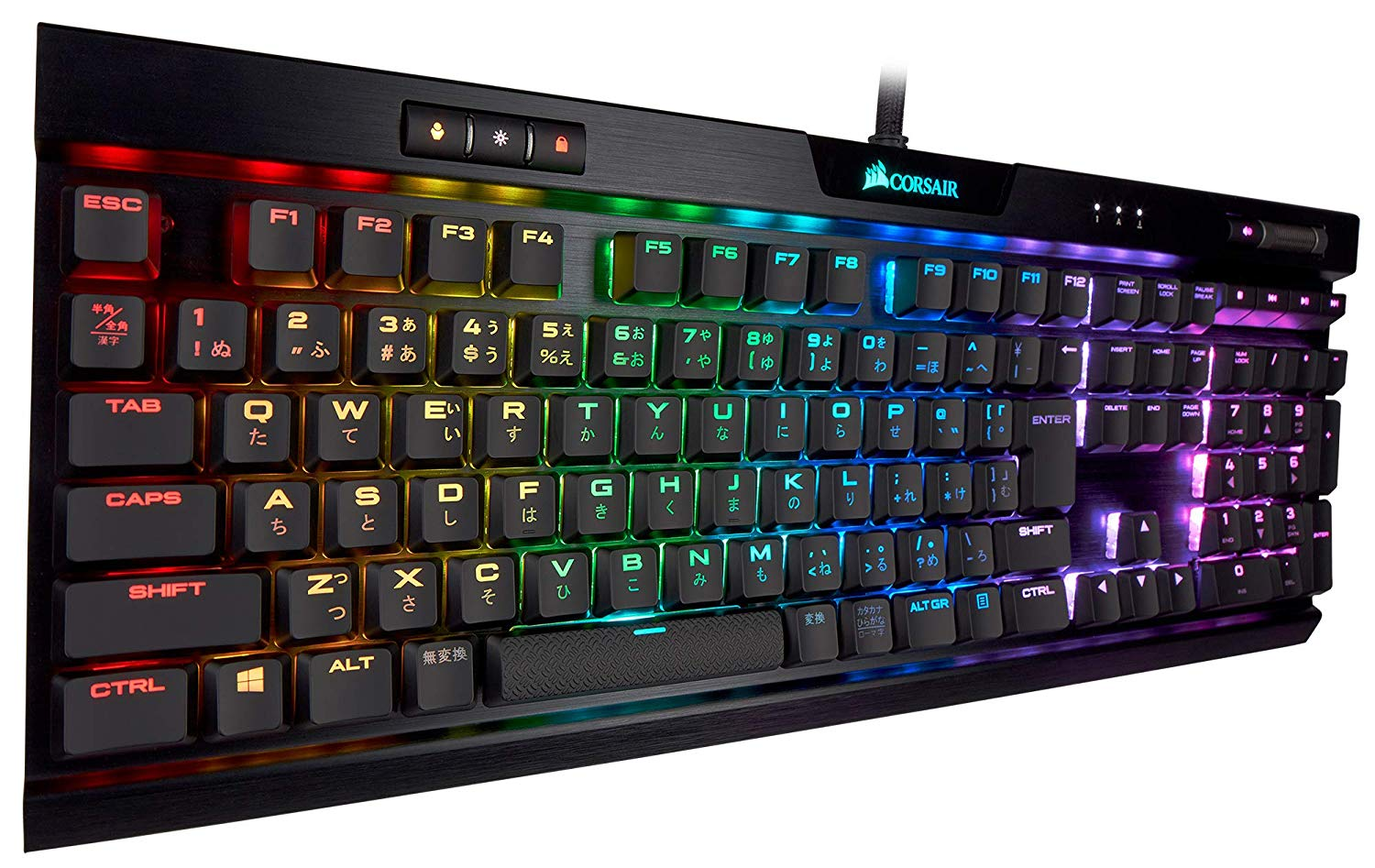 CORSAIR K70 RGB MK.2 RAPIDFIRE Low Profile