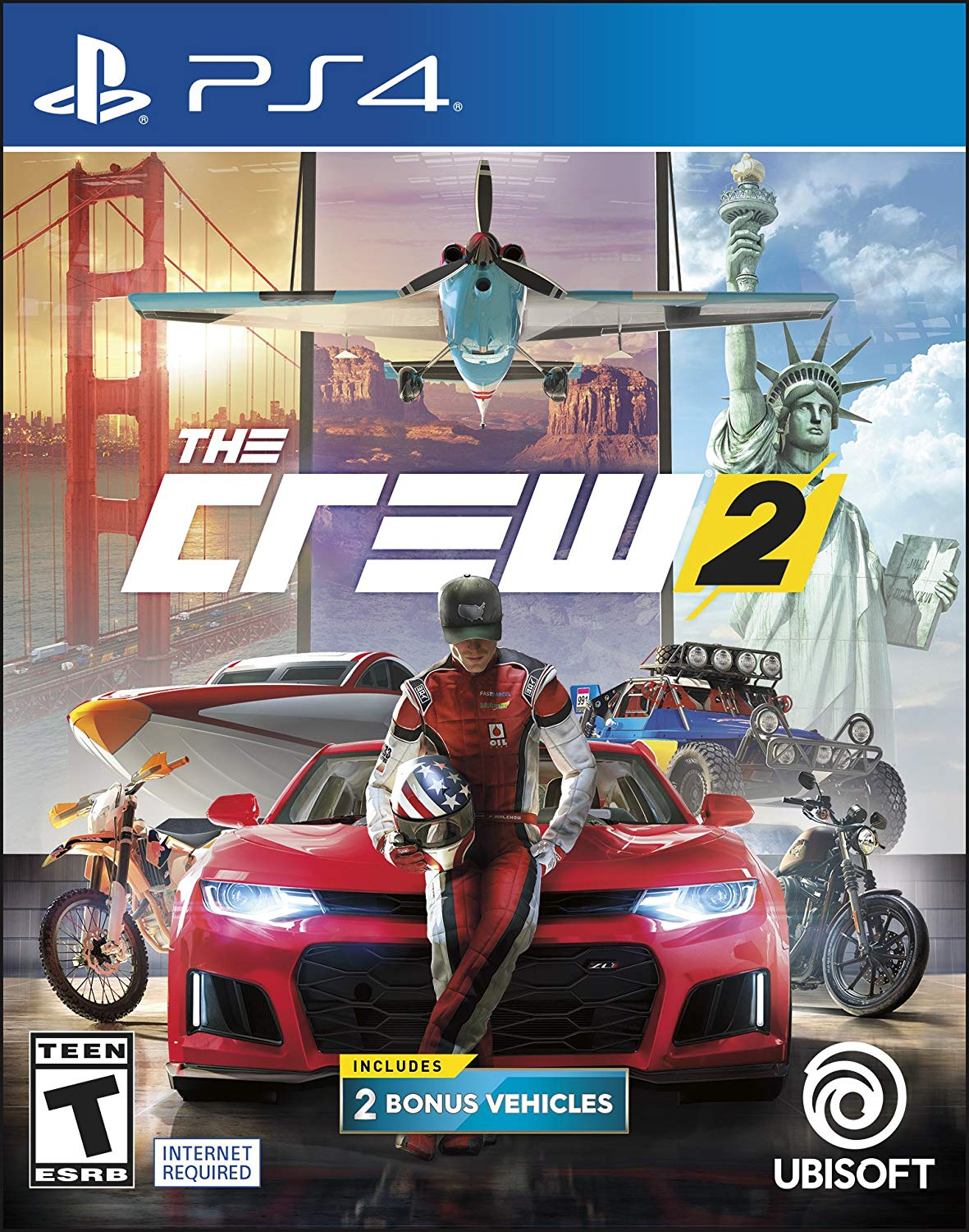 PS4 The Crew 2 em Portugues (PlayStation 4)